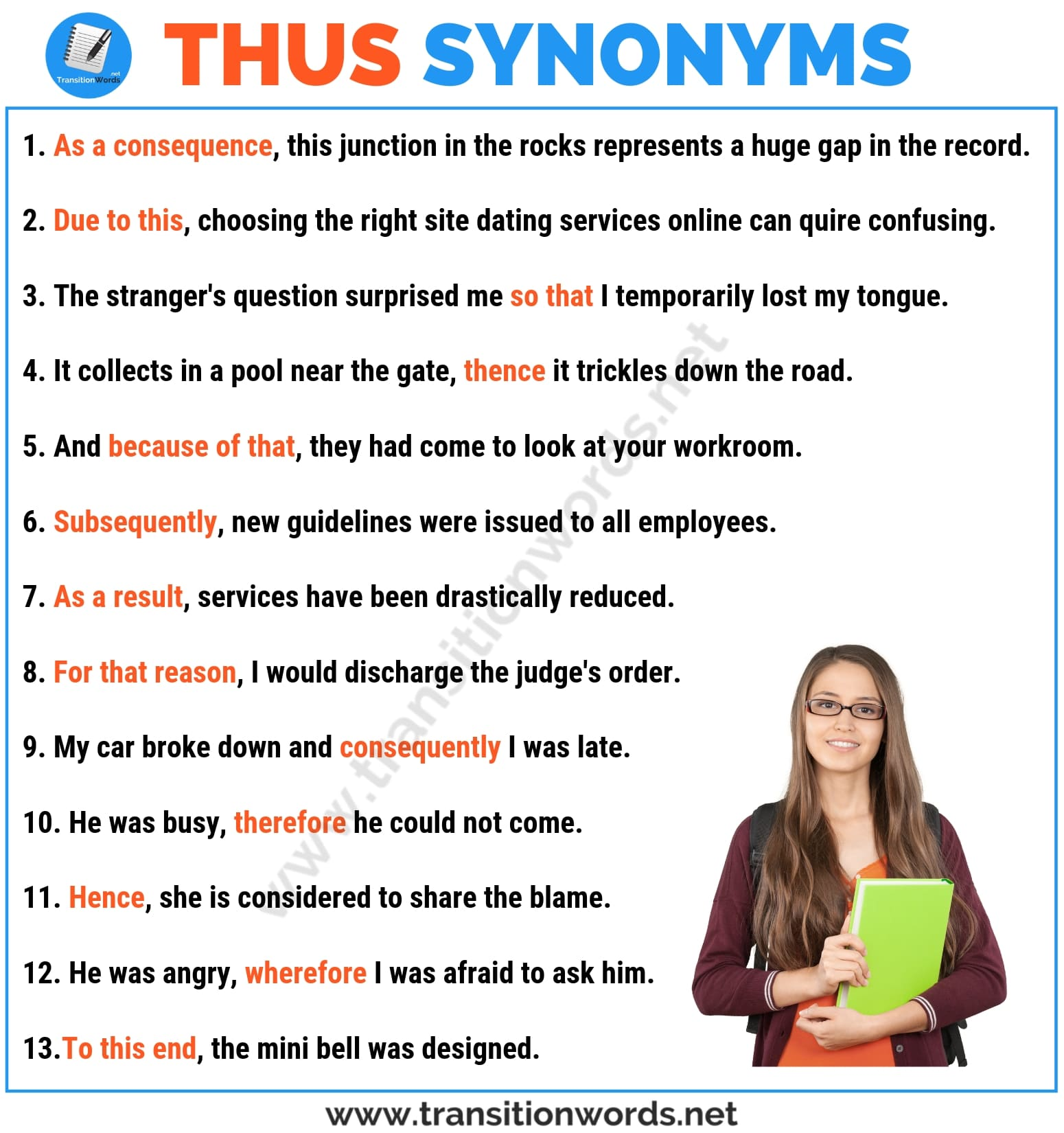 THUS Synonym: List of 29 Important Synonyms for Thus with Examples