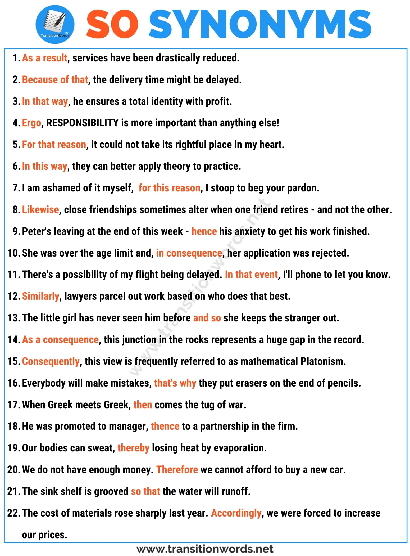 Other Ways to Say SO: List of 20+ Synonyms for SO in English with Useful Examples